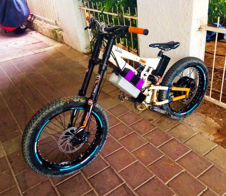 אופניים חשמליים דאונהיל 18 אינץ'