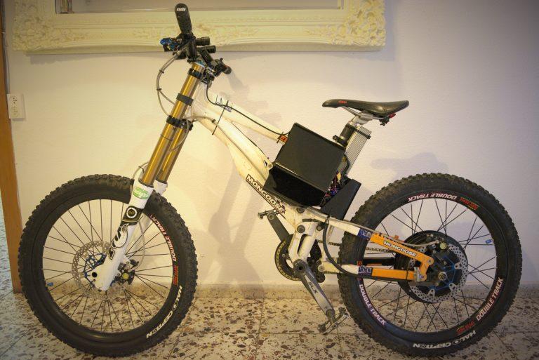 """אופניים חשמליים שטח דאונהיל """"24"""