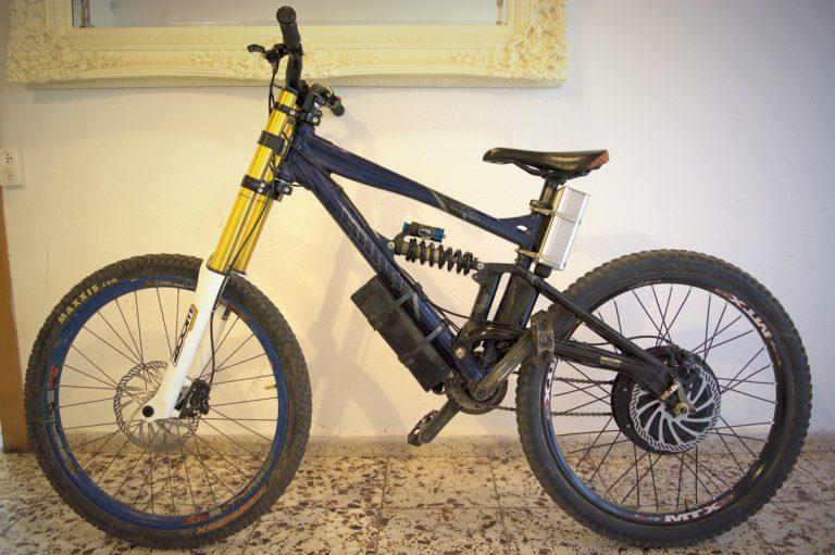 """אופניים חשמליים שטח דאונהיל """"26"""