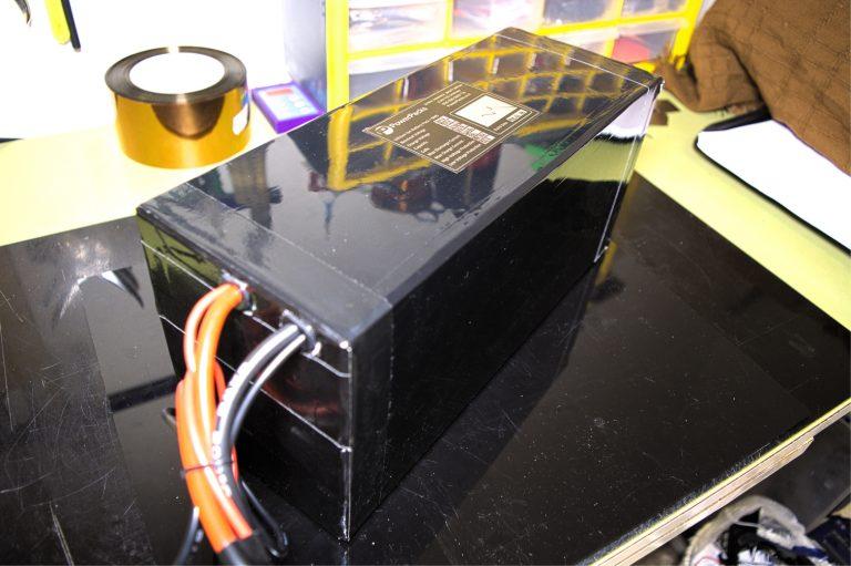 בניית סוללה 72 וולט 30 אמפר שעה 10