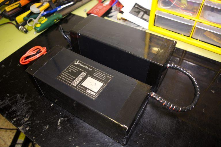 בניית סוללת ליתיום לקורקינט איגל
