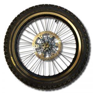 גלגל קדמי 18 אינץ' עם צמיג